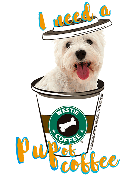 Westie T Shirt - Coffee Mug