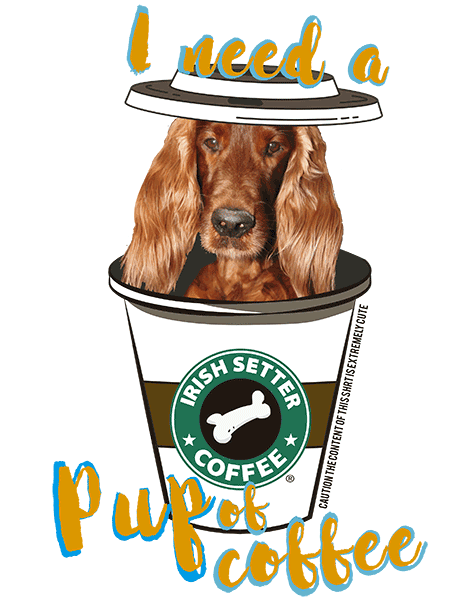 Irish Setter T Shirt - Coffee Mug