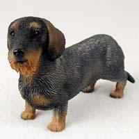 Wirehaired Dachshund Figurine