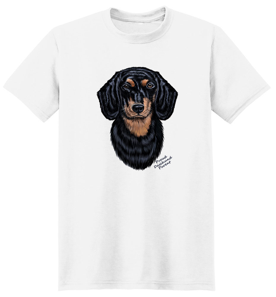 Dachshund T Shirt - Proud Parent