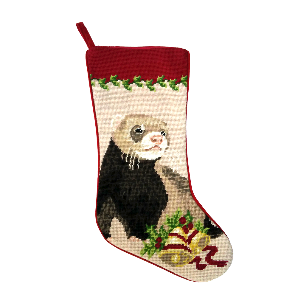 Ferret Christmas Stocking