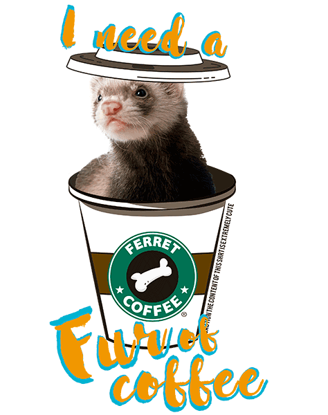 Ferret T Shirt - Coffee Mug