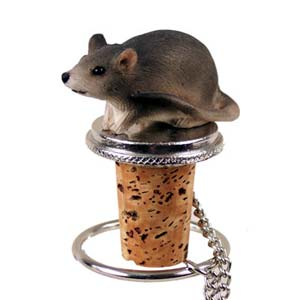 Mouse Bottle Stopper