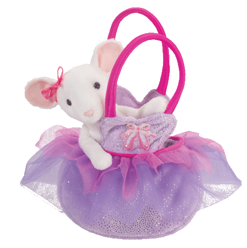 Mouse Tutu Purse 7� Stuffed Plush Animal