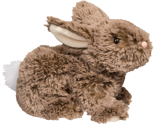 Mocha the Bunny 7� Stuffed Plush Animal