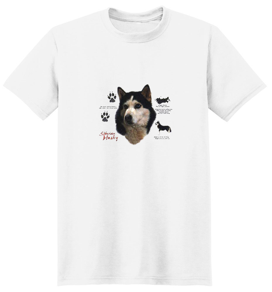 Siberian Husky T-Shirt - History Collection