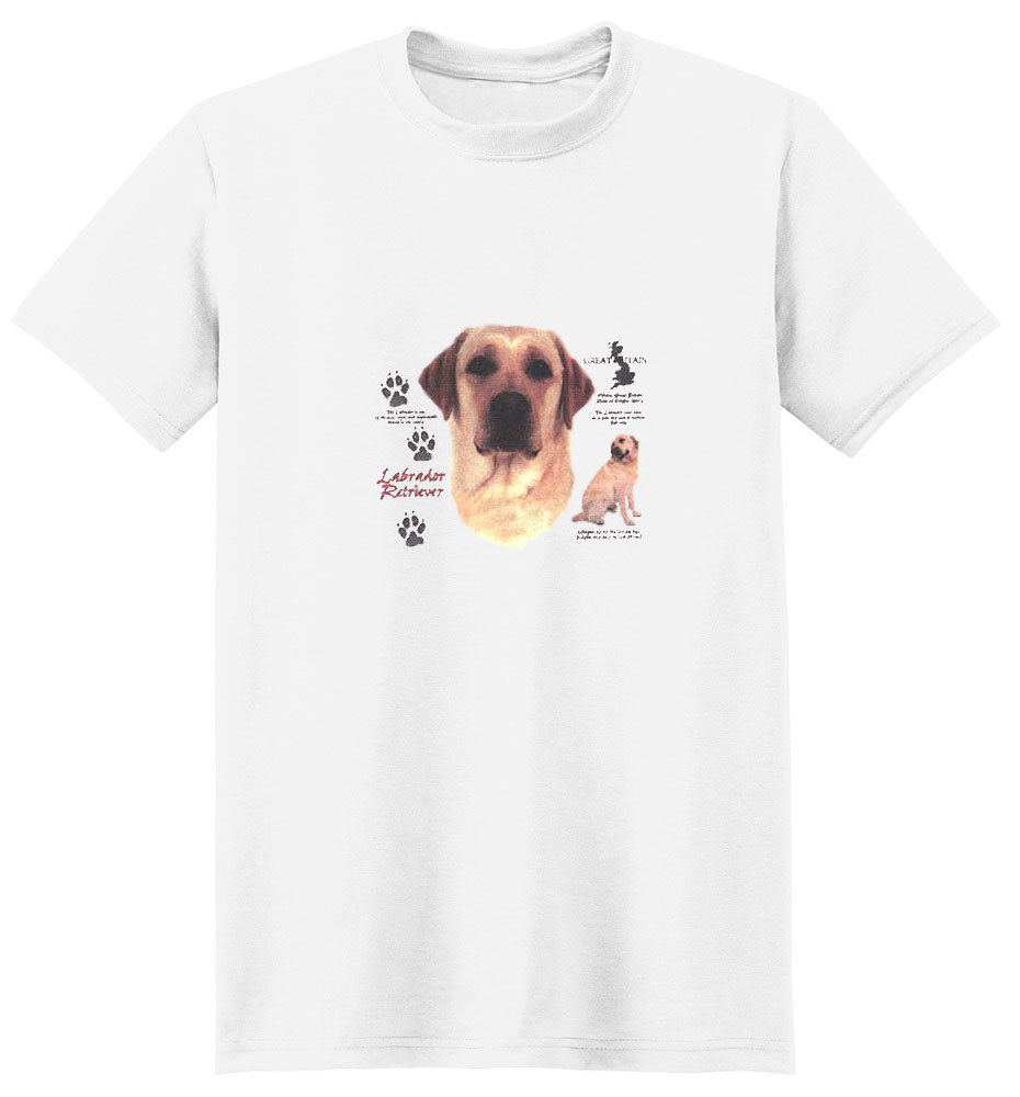 Yellow Lab T-Shirt - History Collection