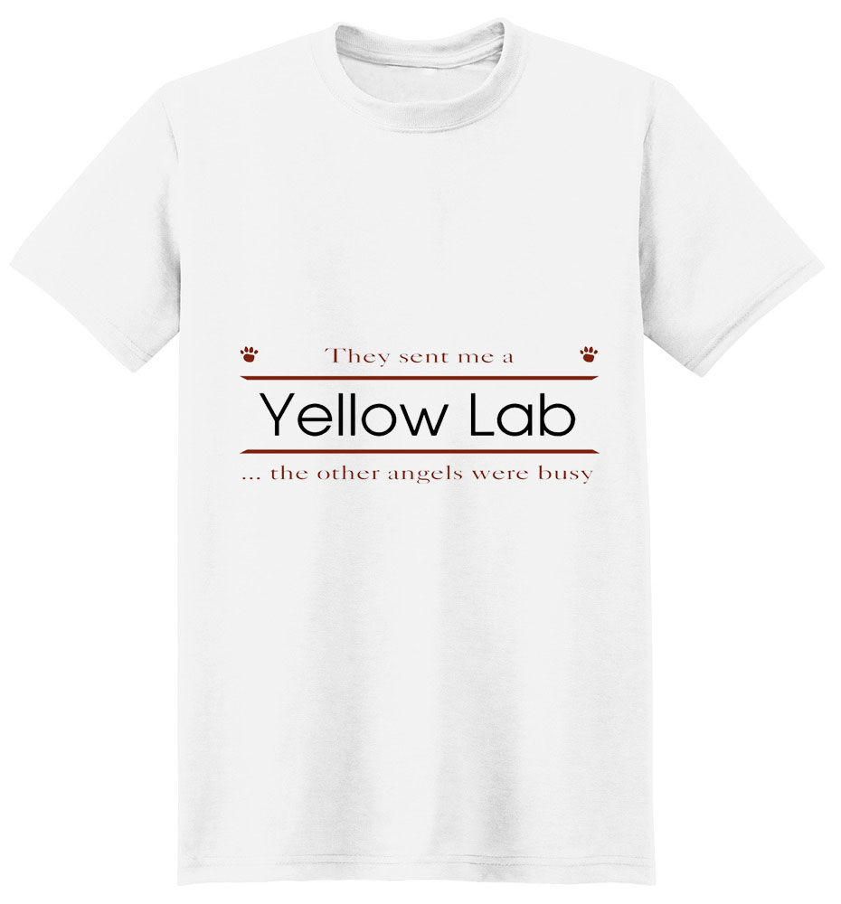 Yellow Lab T-Shirt - Other Angels