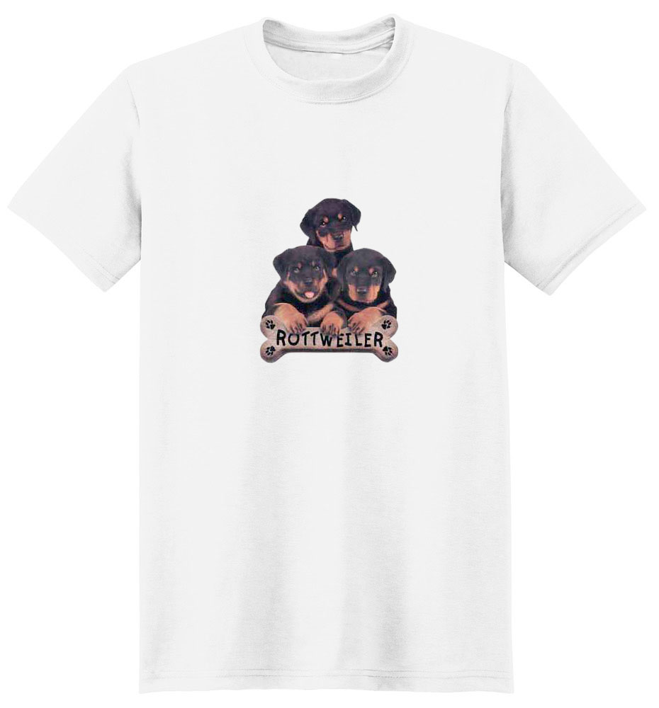 Rottweiler T-Shirt - Trio of Three