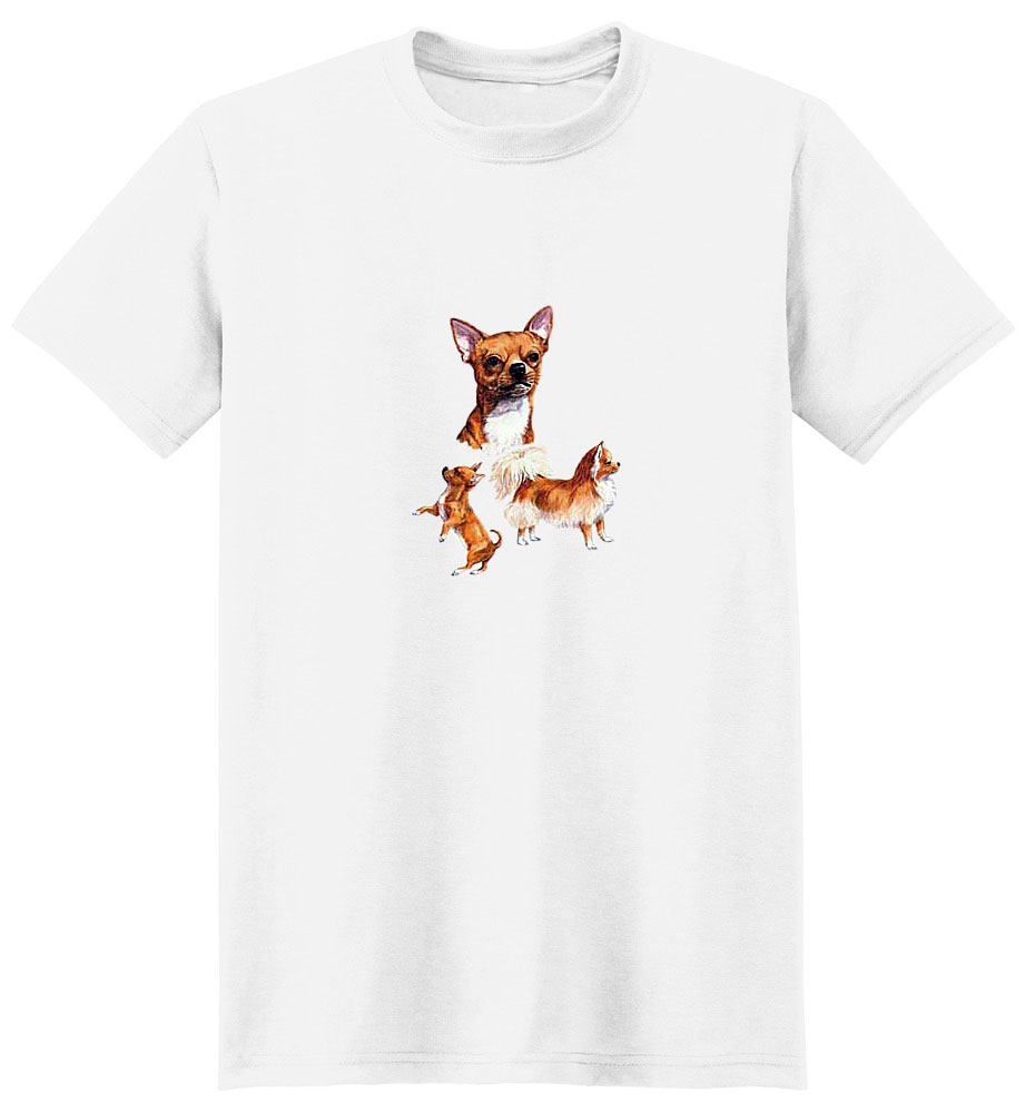 Chihuahua T-Shirt - Collage