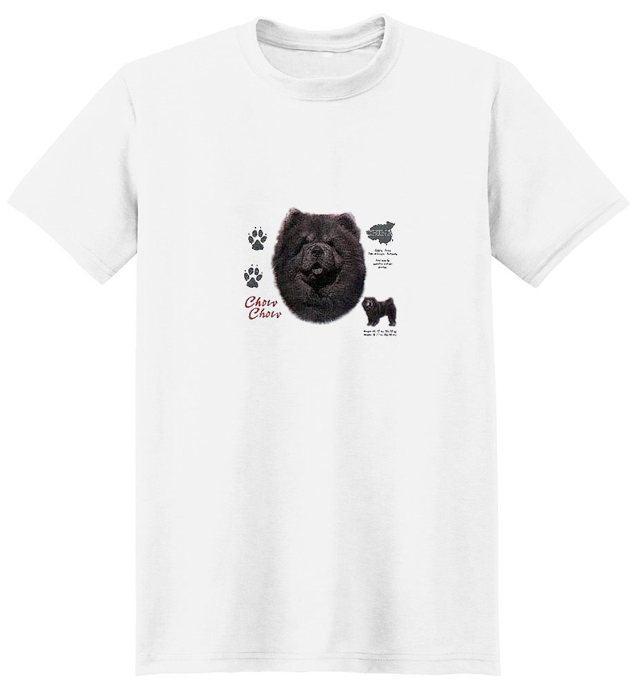 Black Chow Chow T-Shirt - History Collection