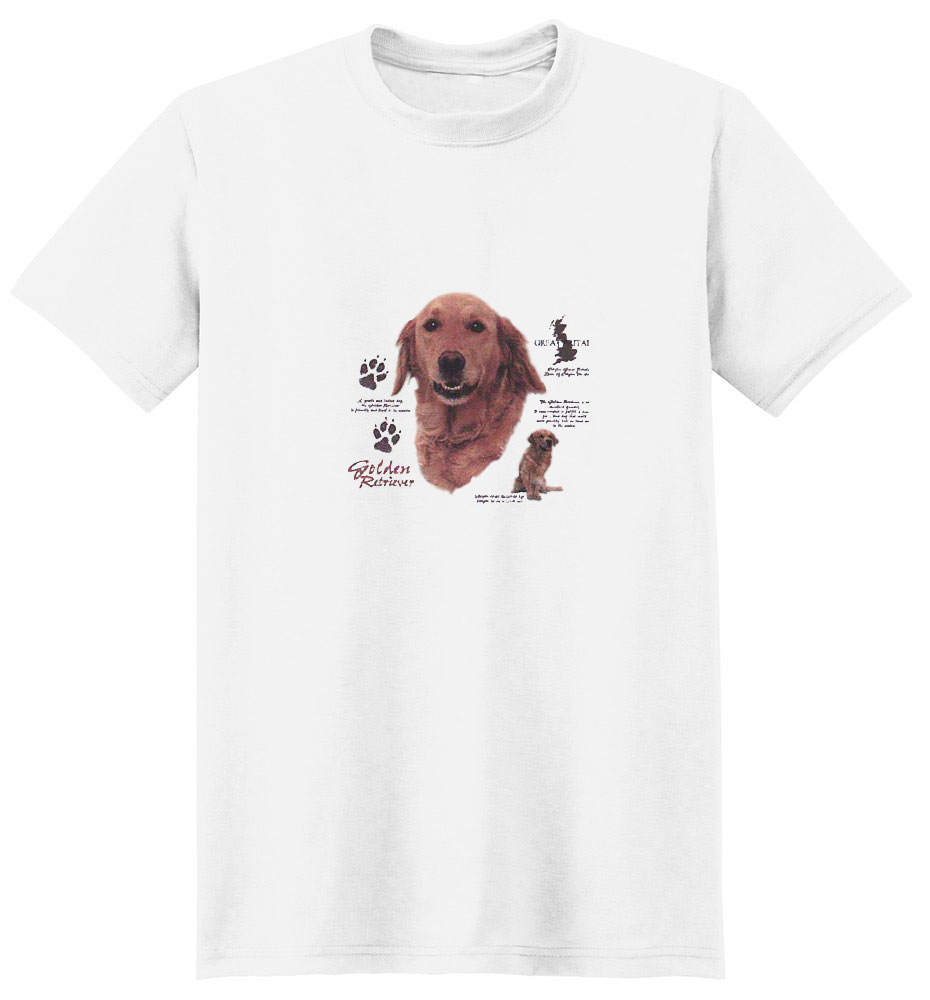 Golden Retriever T-Shirt - History Collection
