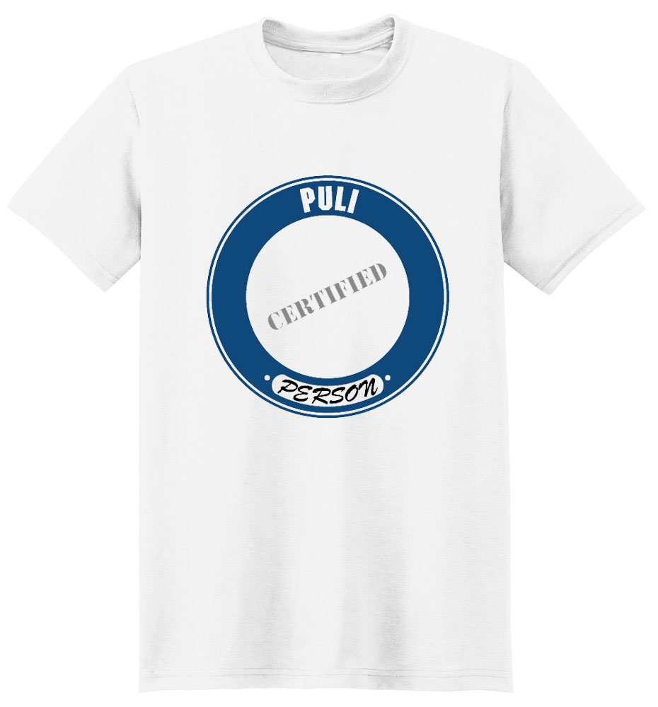 Puli T-Shirt - Certified Person