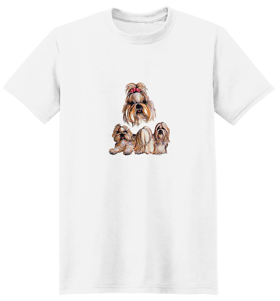 Shih Tzu T-Shirt - With Ribbon