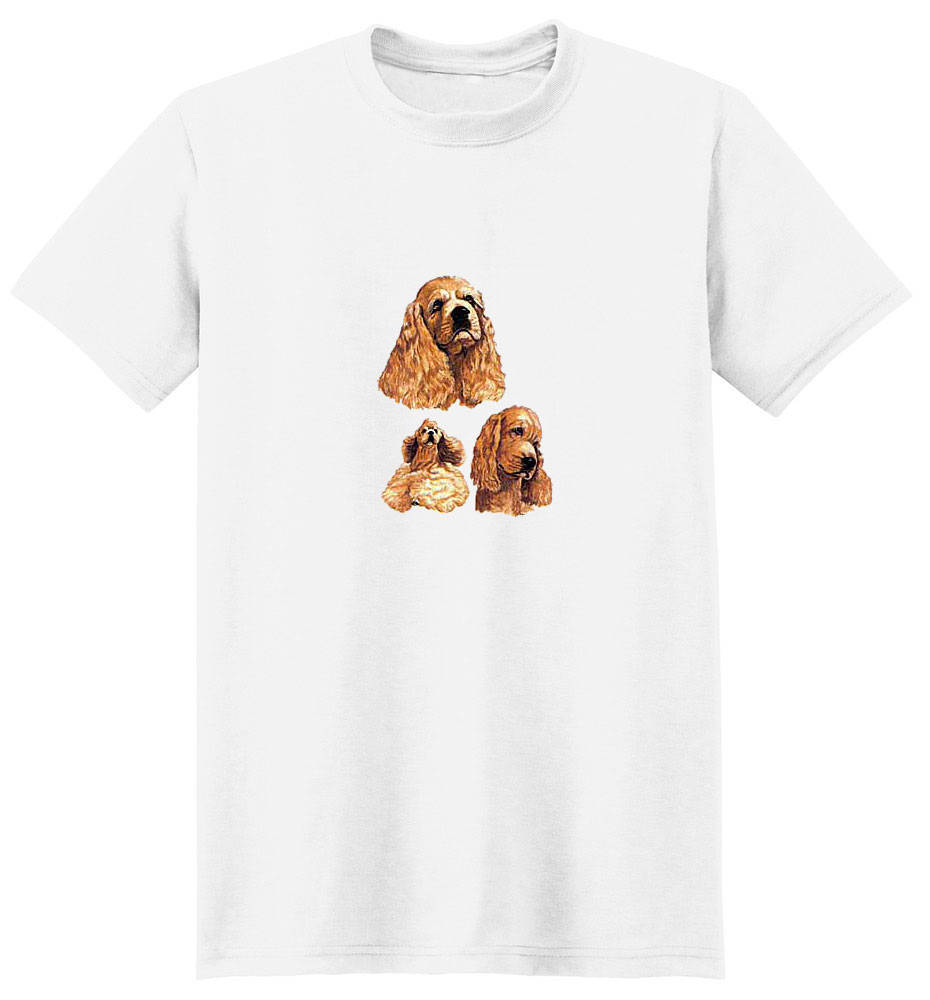 Cocker Spaniel T-Shirt - Collage
