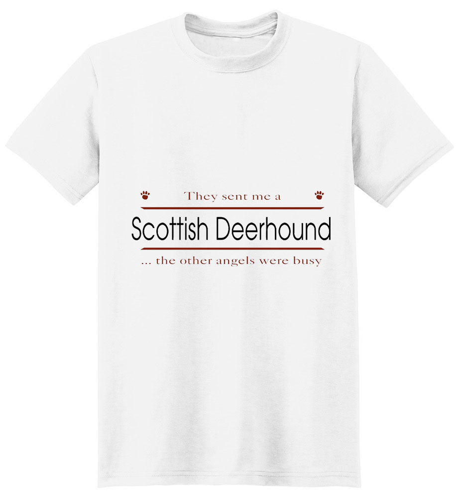 Scottish Deerhound T-Shirt - Other Angels