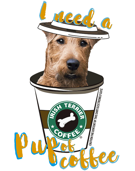 Irish Terrier T Shirt - Coffee Mug