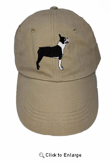 Boston Terrier Hat