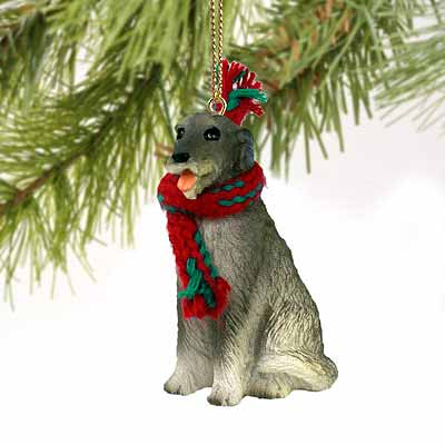 Irish Wolfhound Tiny One Christmas Ornament