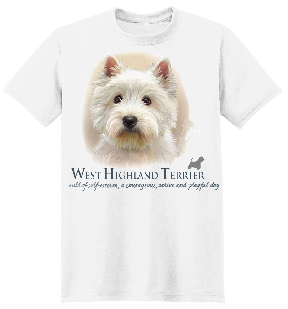 West Highland Terrier T-Shirt - Jim Killen