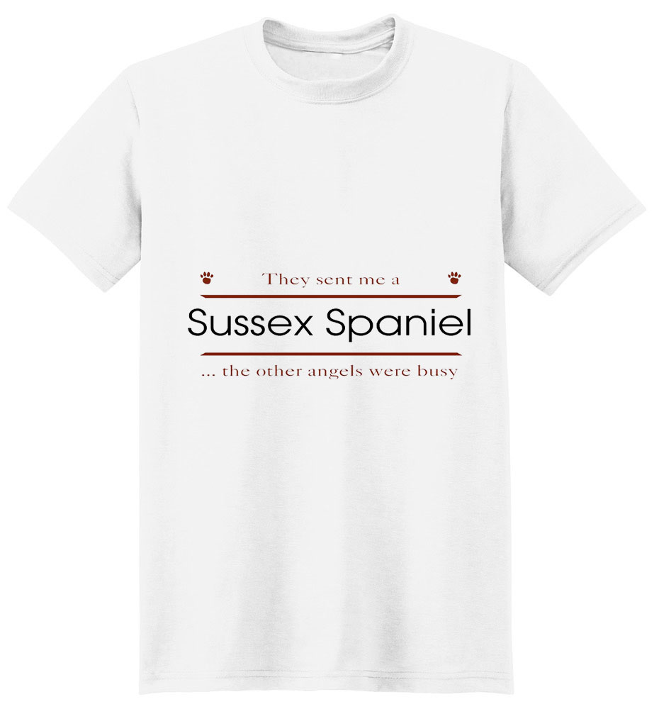Sussex Spaniel T-Shirt - Other Angels