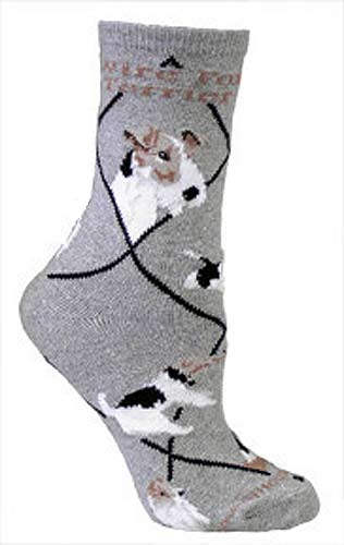 Wire Fox Terrier Socks