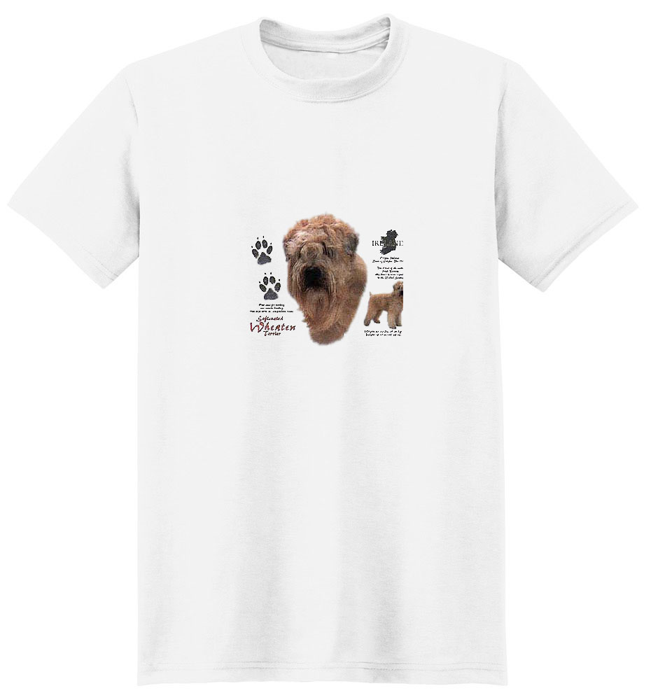Wheaten Terrier T-Shirt - History Collection