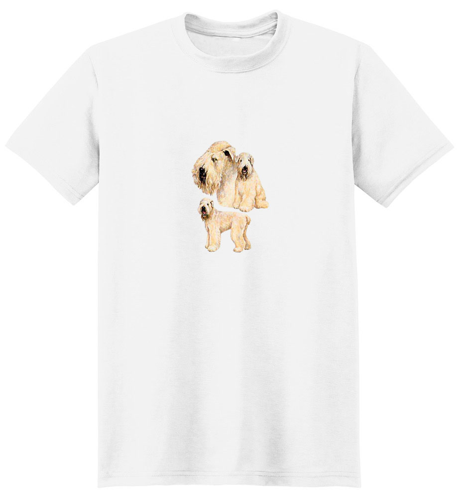 Wheaten Terrier T-Shirt - Best Friends