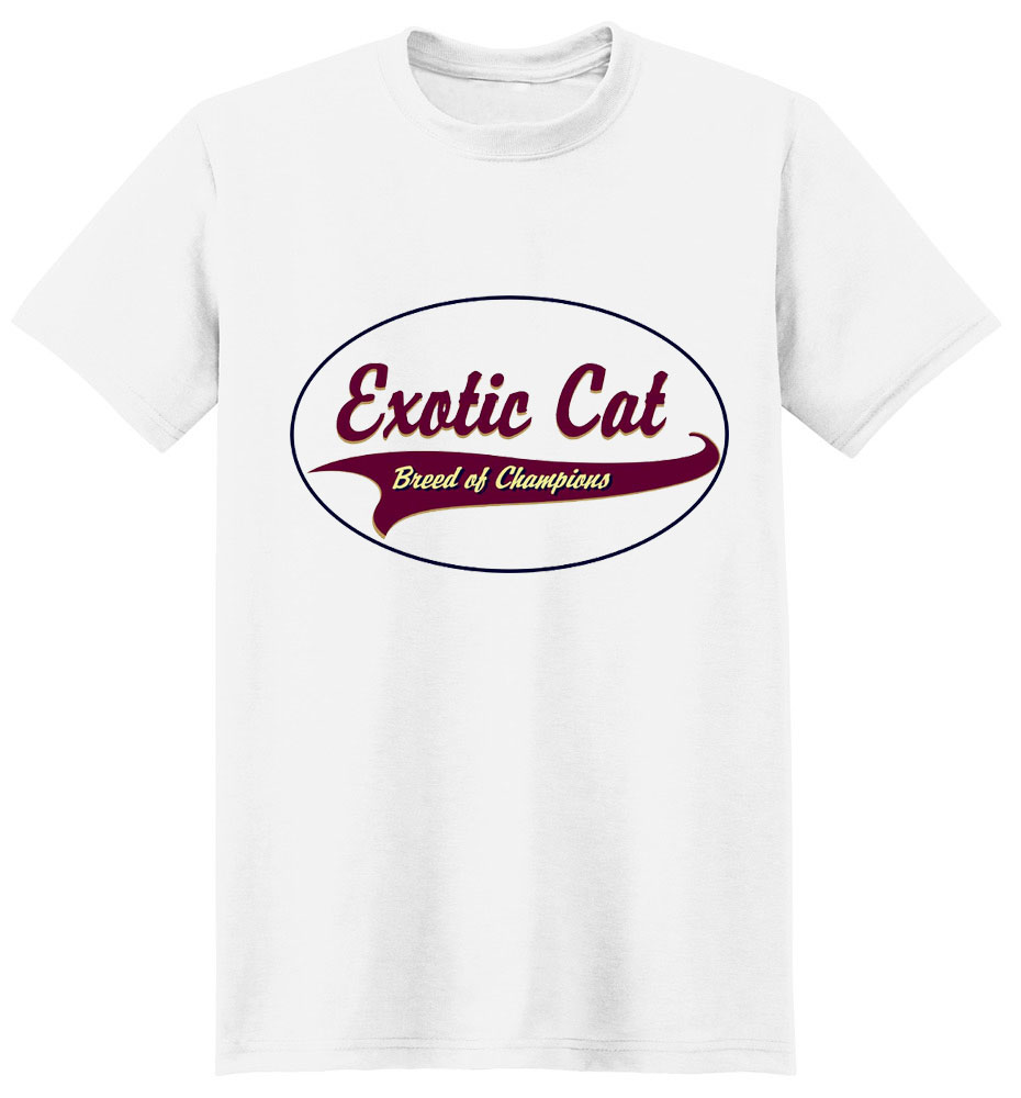 Exotic Cat T-Shirt - Breed of Champions