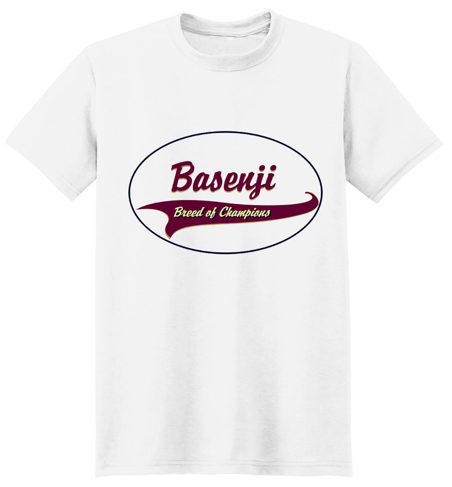 Basenji T-Shirt - Breed of Champions