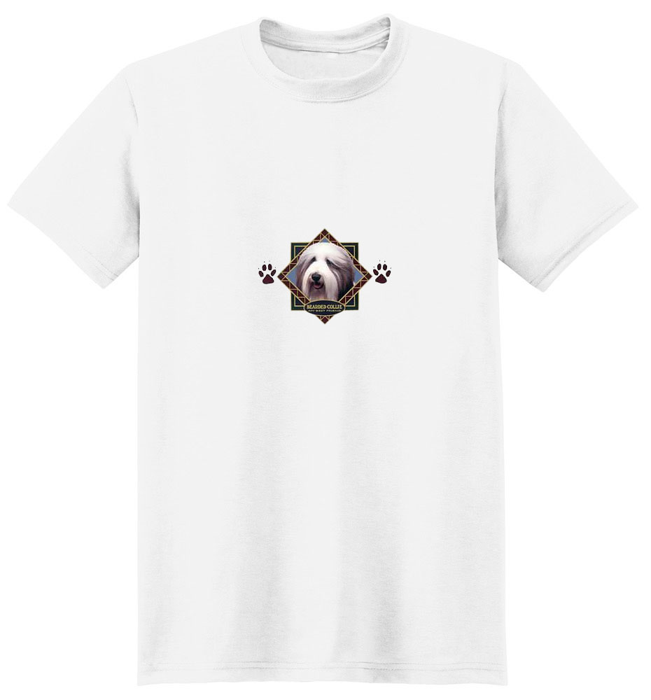 Bearded Collie T-Shirt - Diamond Collection