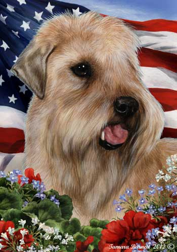 Wheaton Terrier House Flag