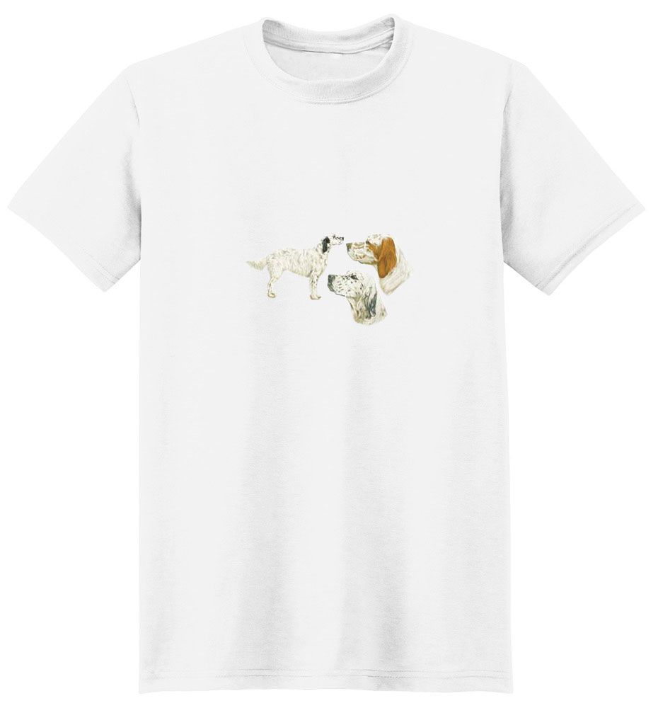 English Setter T-Shirt - Trio of Three