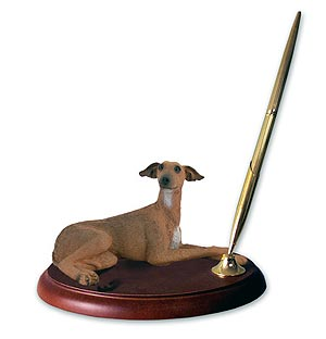 Italian Greyhound Pen Holder