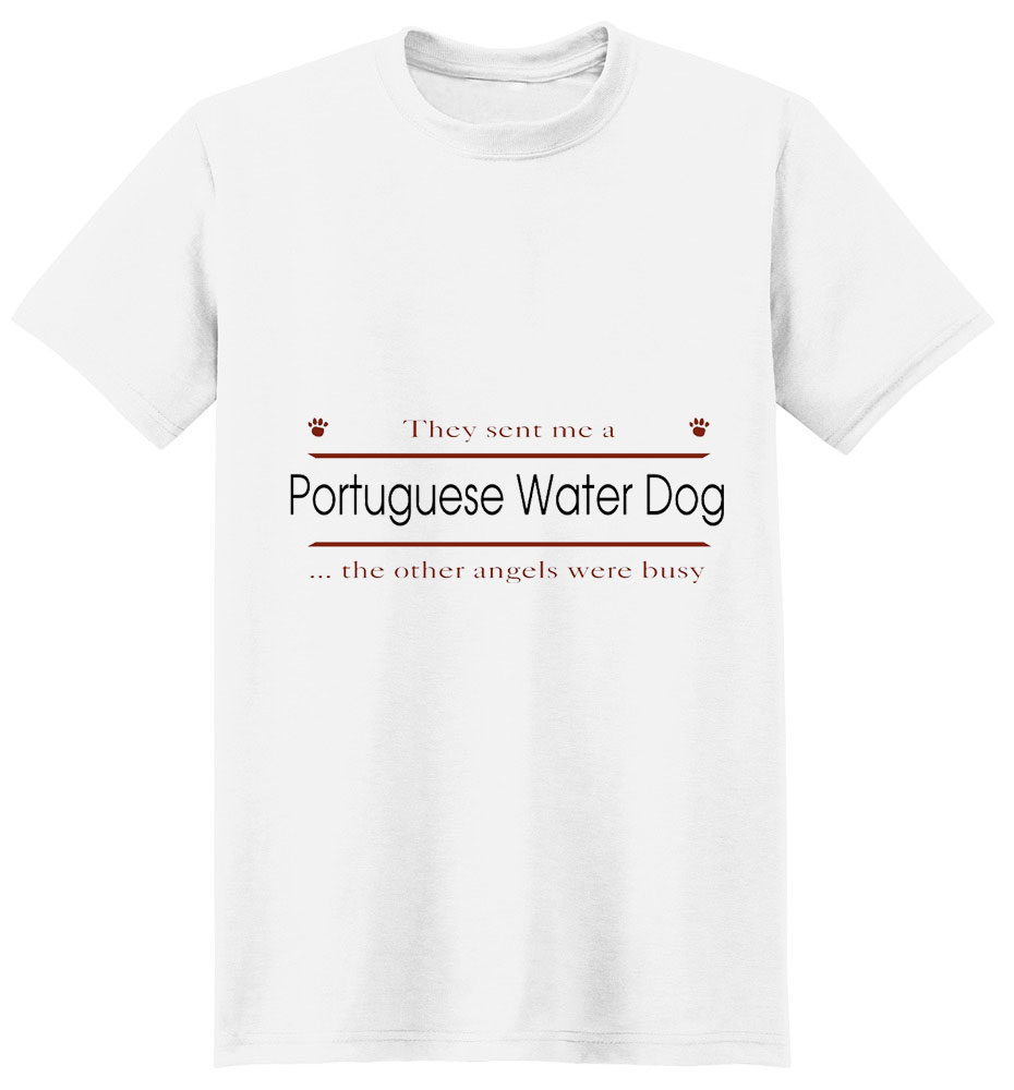 Portuguese Water Dog T-Shirt - Other Angels