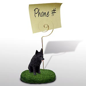 Schipperke� Note Holder