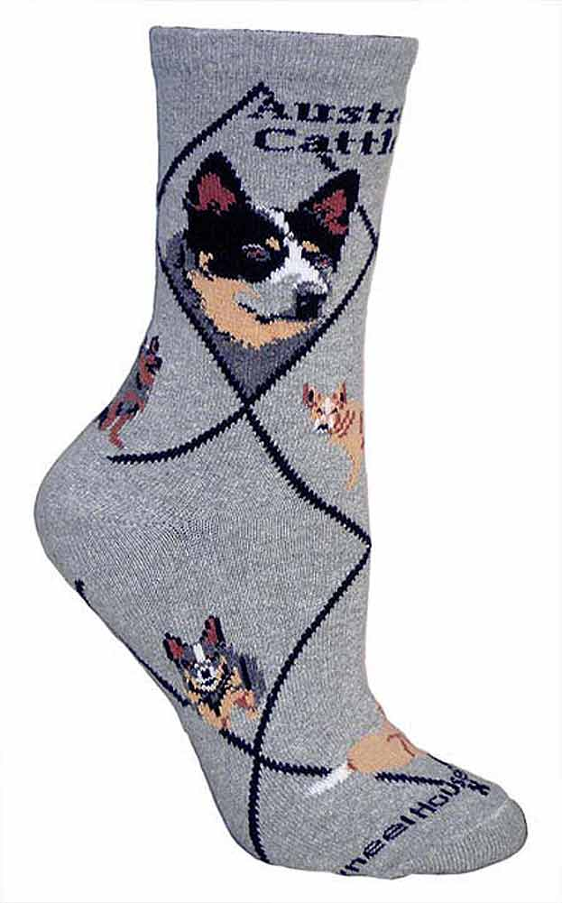 Australian Cattle Dog Socks