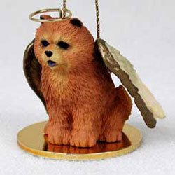 Chow Chow Christmas Ornament Angel