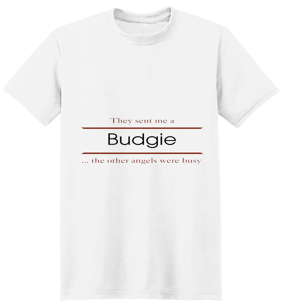 Budgie T-Shirt - Other Angels