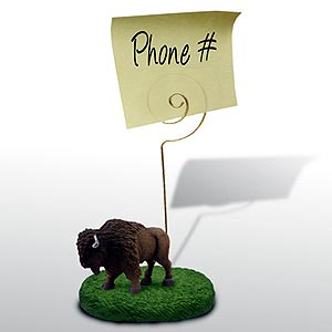 Buffalo Note Holder