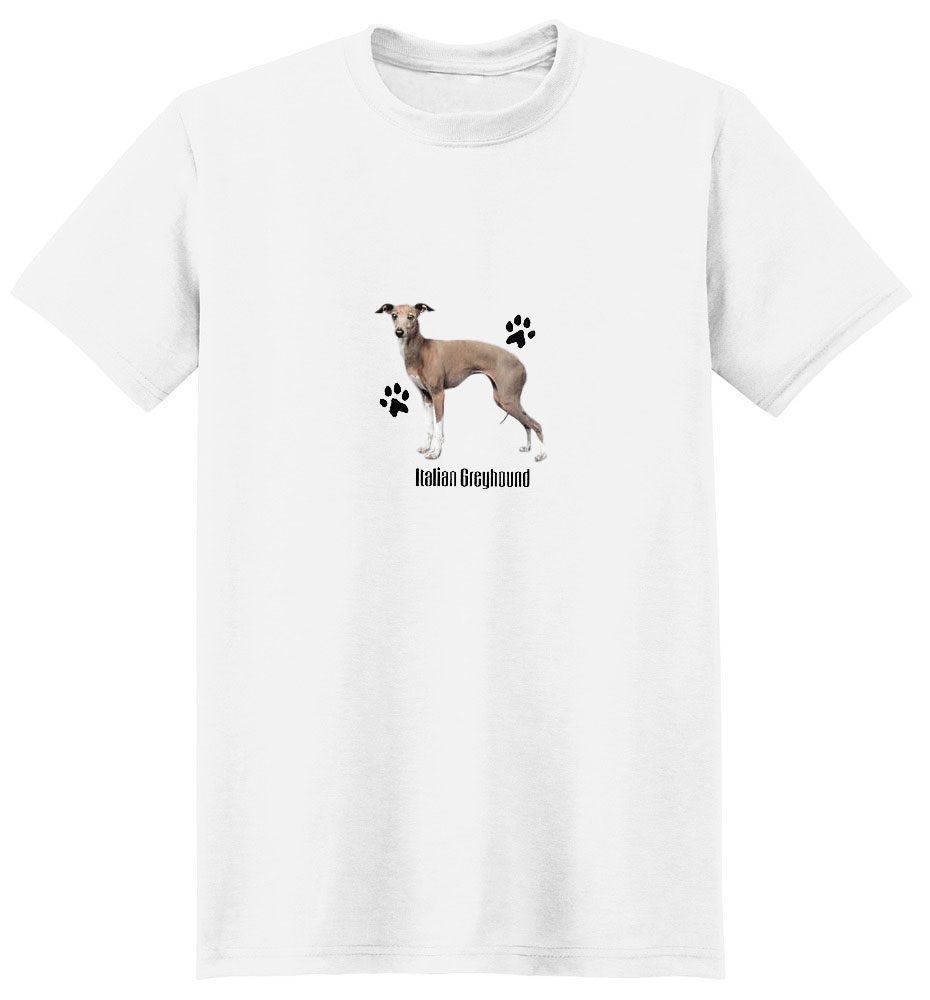 Italian Greyhound T-Shirt - Profiles