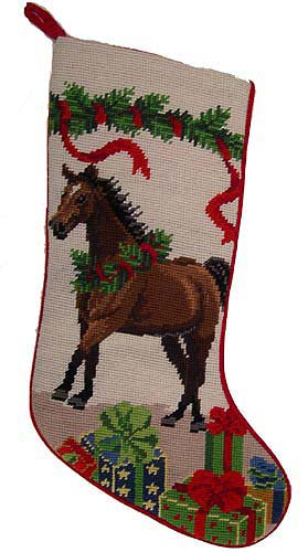 Horse Christmas Stocking