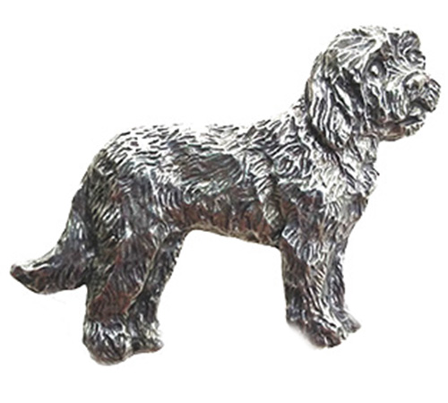 Goldendoodle Pewter Pin