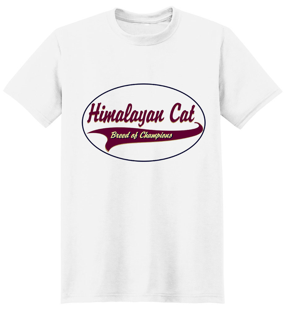 Himalayan Cat T-Shirt - Breed of Champions