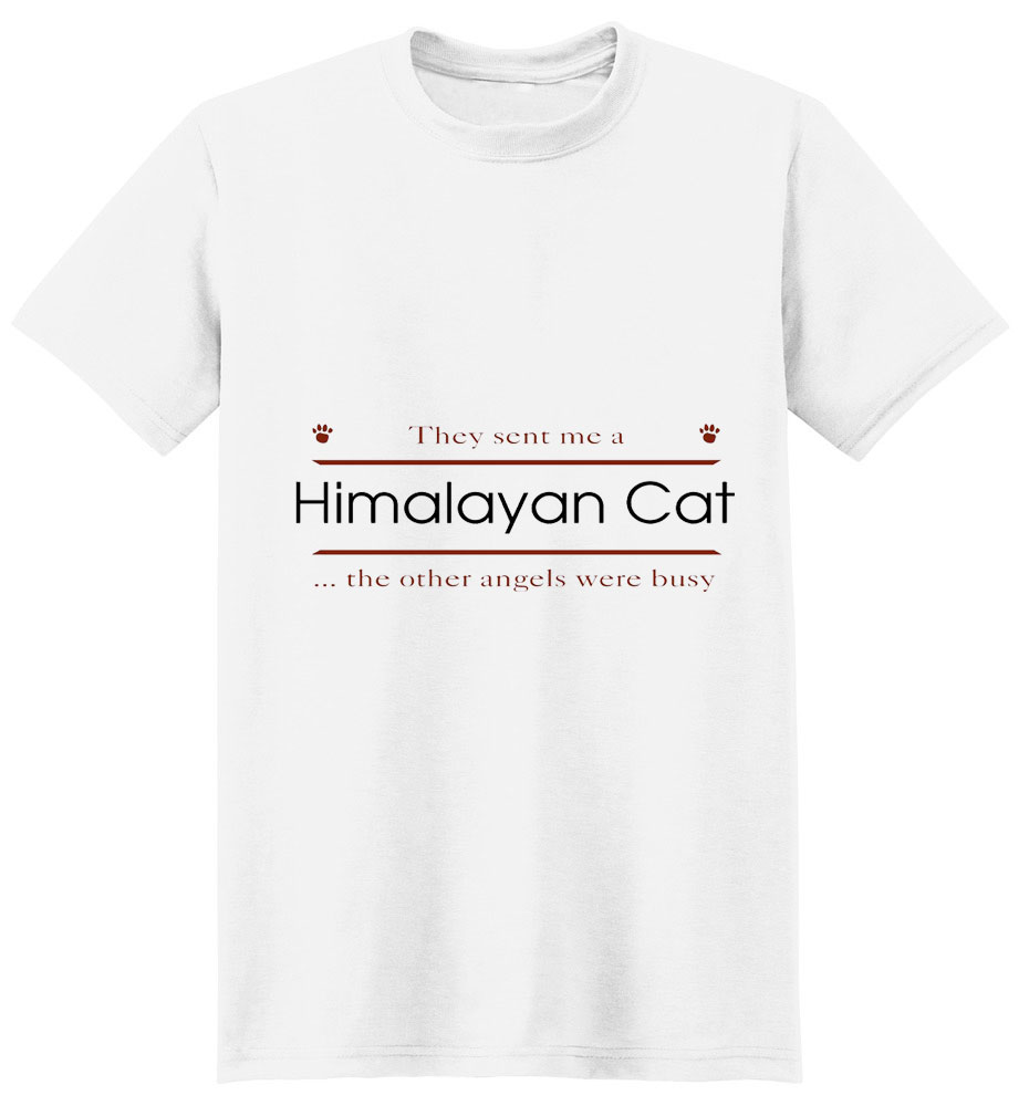 Himalayan Cat T-Shirt - Other Angels