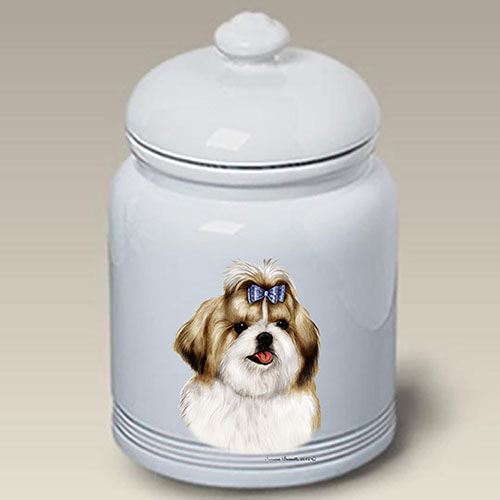Shih Tzu Treat Jar