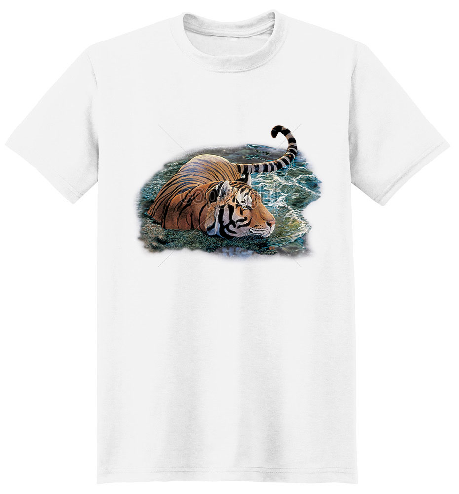Tiger T Shirt Cooling Off