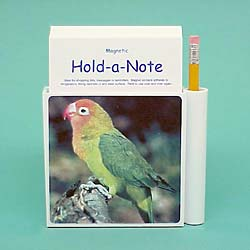 Lovebird Hold-a-Note