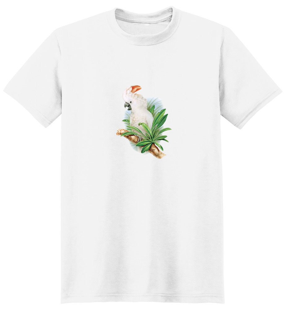 Cockatoo T-Shirt - Brightly Colored