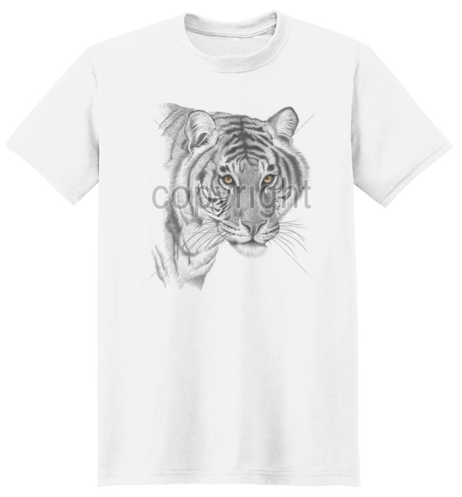 Tiger T Shirt Golden Eyes